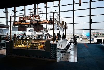 Fausto presenta una propuesta gourmet en el Aeropuerto de Ezeiza