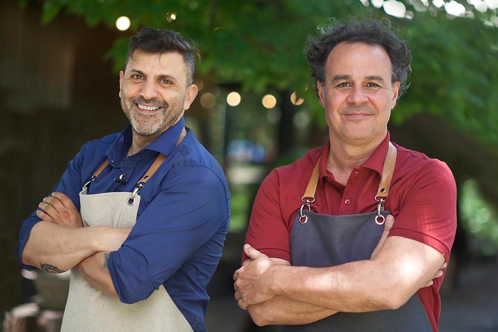 Juan Manuel Herrera y Roberto Petersen
