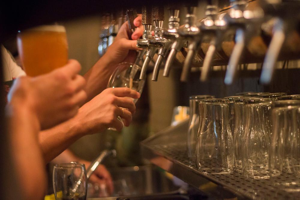 nueva cervecería Growlers en Belgrano