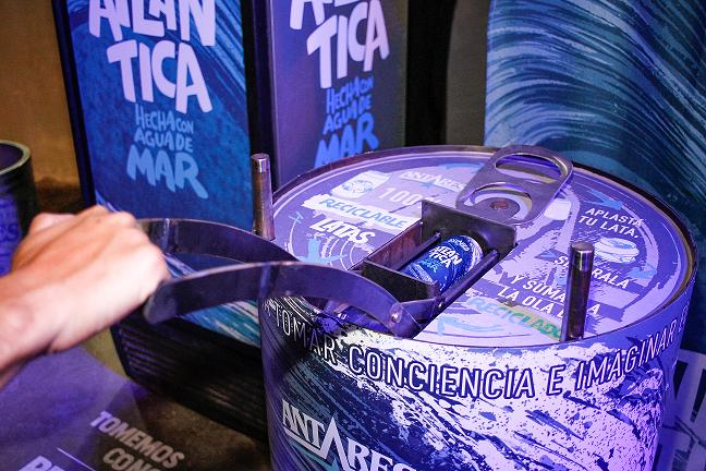 reciclaje de latas Antares