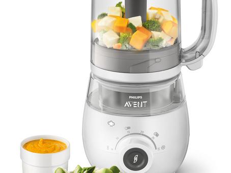 Philips Avent lanza su práctico robot de cocina 4 en 1