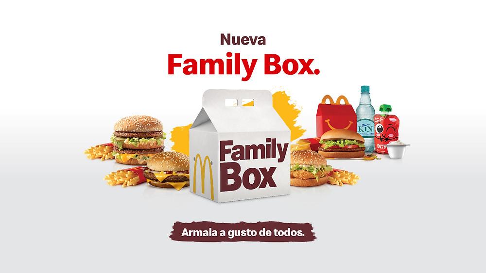 Family Box de McDonalds