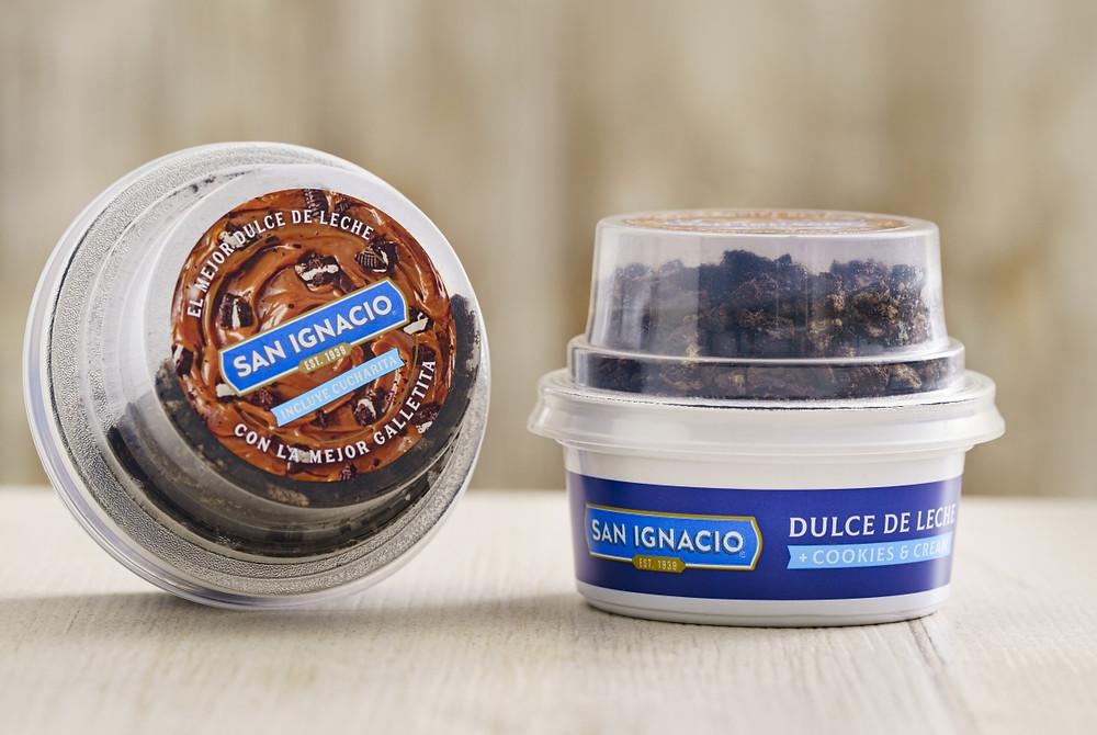 Dulce de leche + Cookies & Cream San ignacio