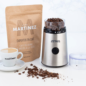 Atma lanza un práctico molinillo eléctrico de café
