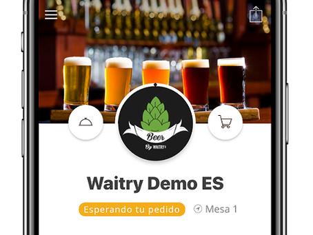Waitry, una app aliada del comensal en cuarentena