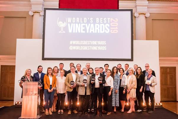 Ceremonia 2019 de World´s Best Vineyards