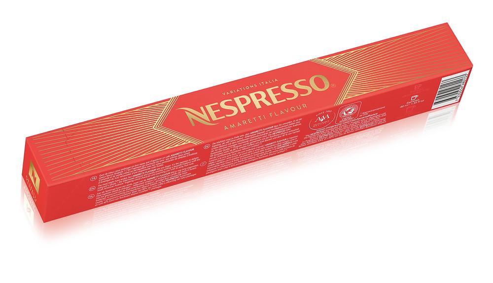 Nespresso Variations Italia Amaretti Flavour