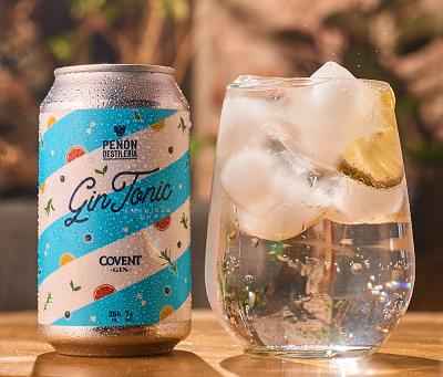 Peñón Destilería lanza dos gin tonics en formato lata