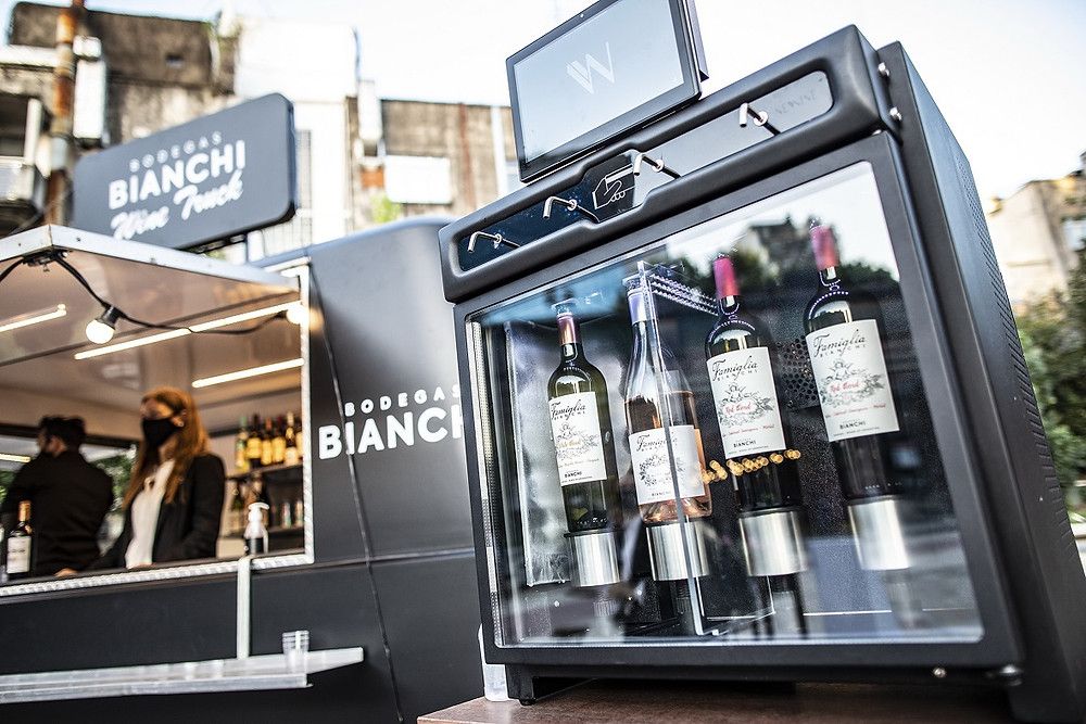 Bodegas Bianchi Wine Truck