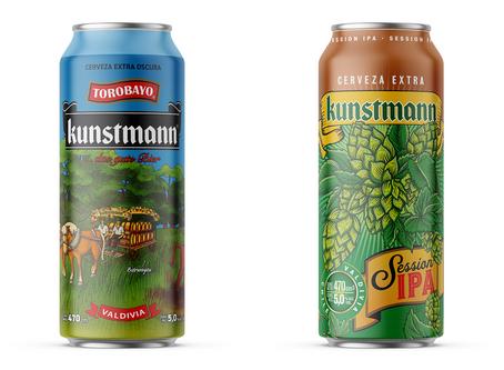 Kunstmann ingresa al formato de las latas de 470 cc