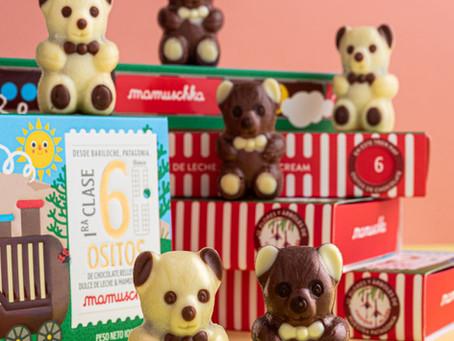 Mamuschka tiene nuevos ositos de chocolate