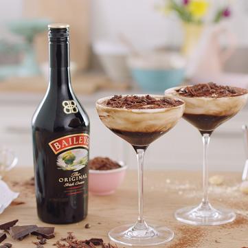 receta Tiramisú Baileys Martini