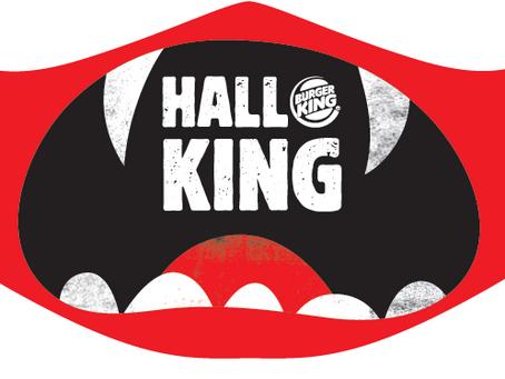 Burger King le pone tapabocas de terror a Halloween