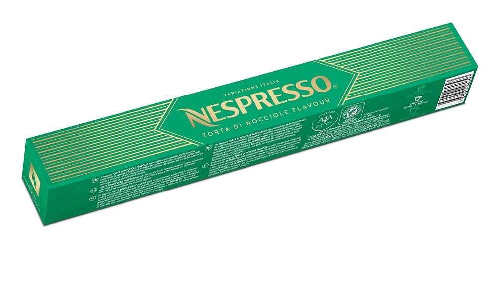 Nespresso Variations Italia Torta di Nocciole