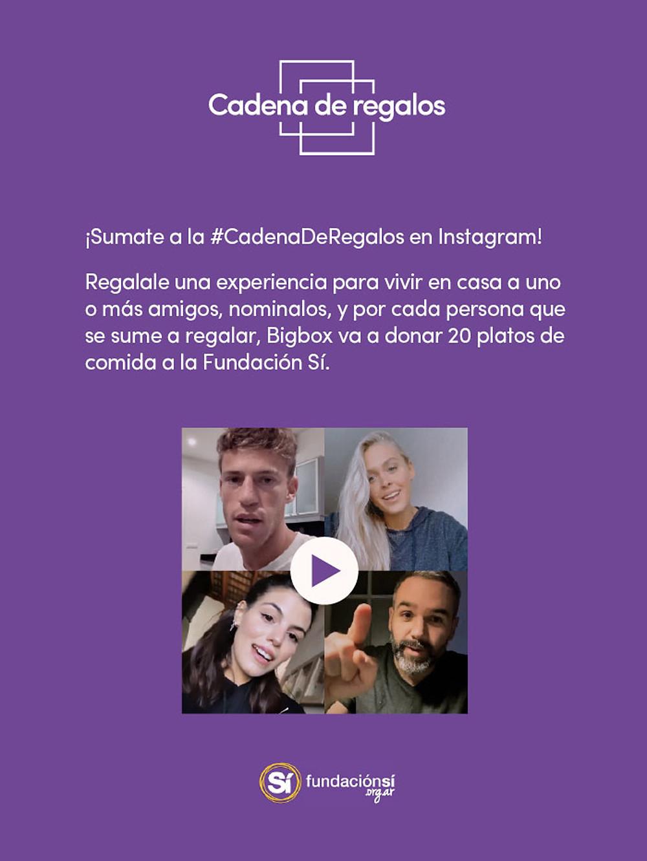 #CadenaDeRegalos