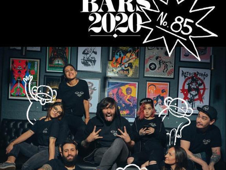 3 Monos: puesto N°85 de The World´s 50 Best Bars