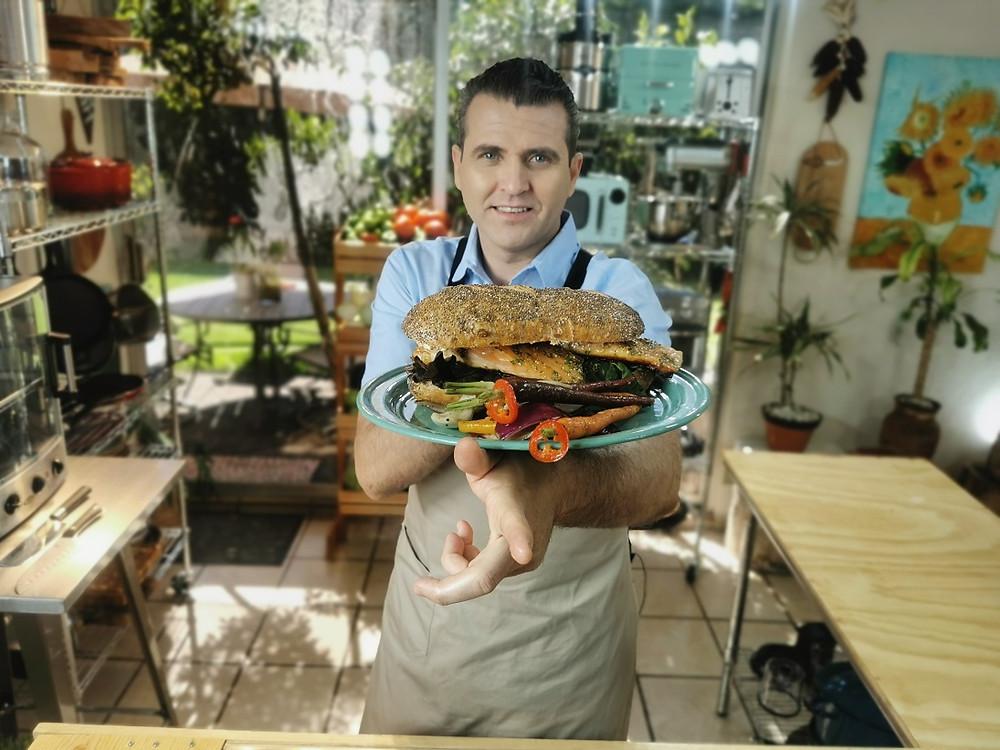 El chef Mexicano Mauricio Romo