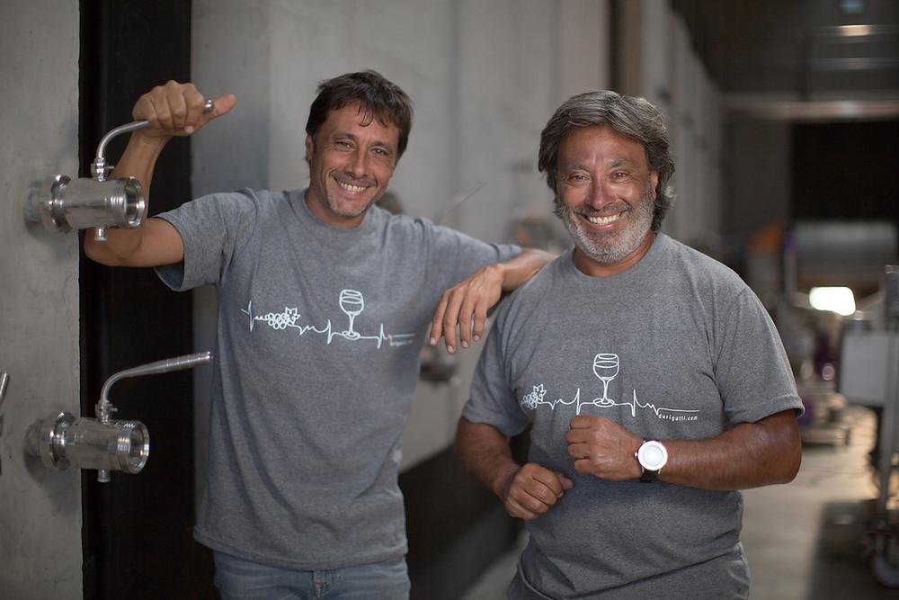 Pablo y Héctor Durigutti
