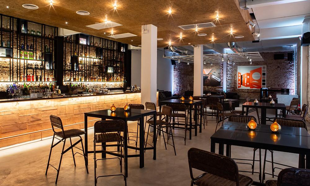 Puente G, bar, coctelería
