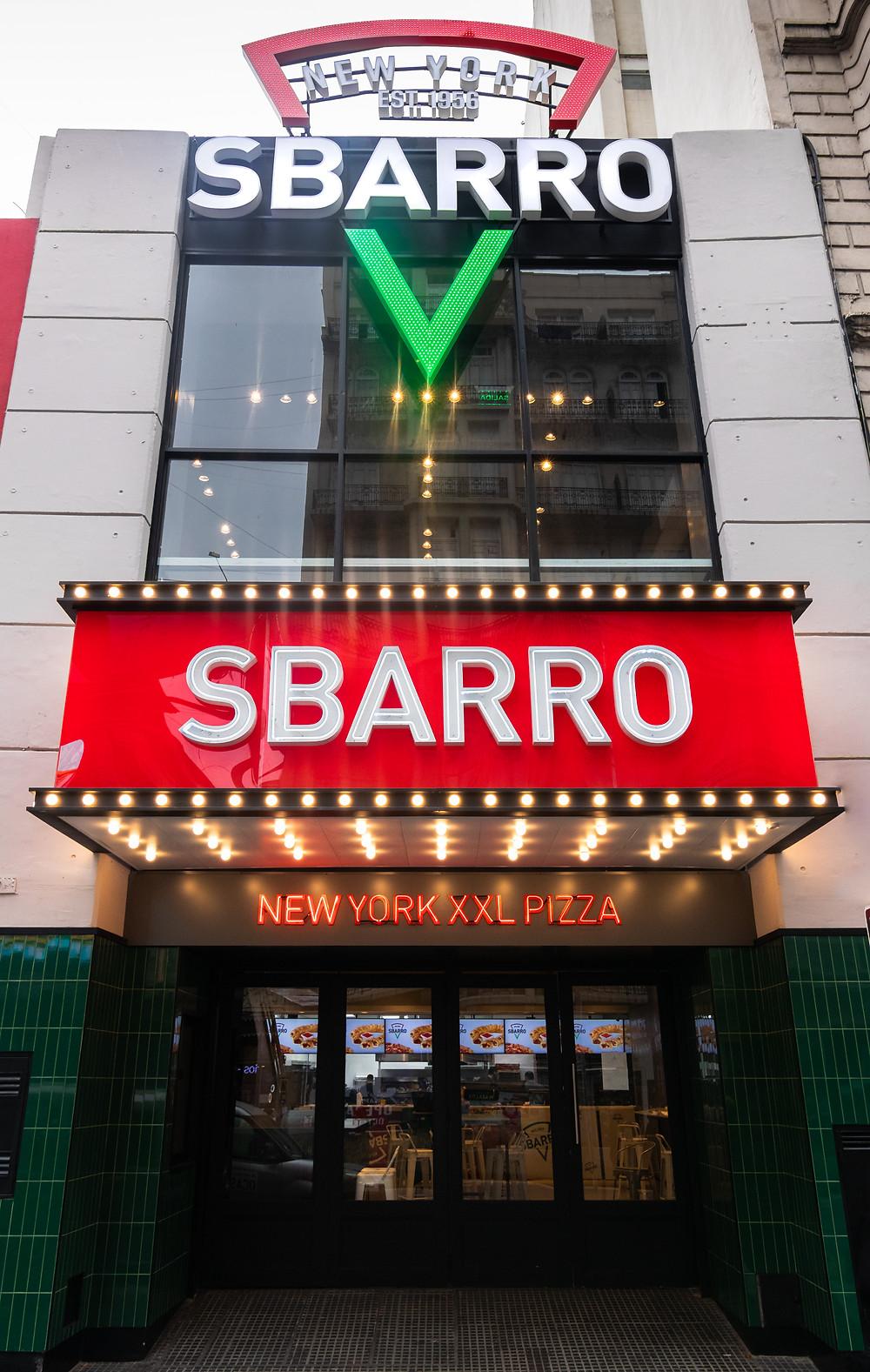 pizzería Sbarro