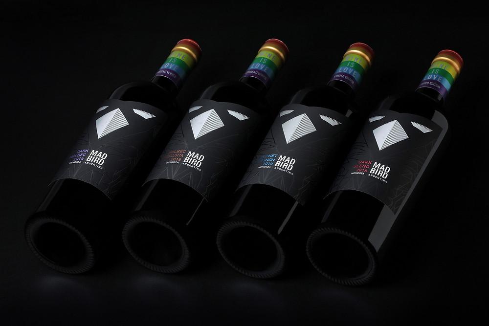 Mad bird wine is love