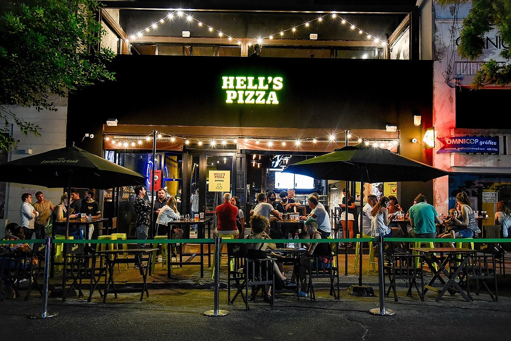 hell´s pizza
