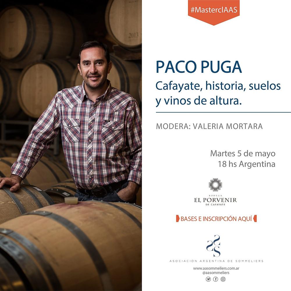 zoom de la AAS con Paco Puga