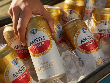 Amstel Lager, un nuevo jugador en la góndola de las cervezas masivas