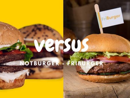 Duelo de hamburguesas veggies: NotBurger versus FriBurger