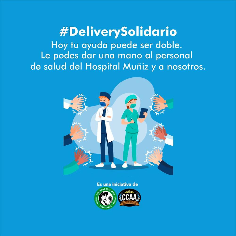 #DeliverySolidario