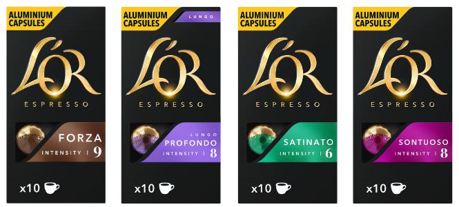 cápsulas L´Or Espresso