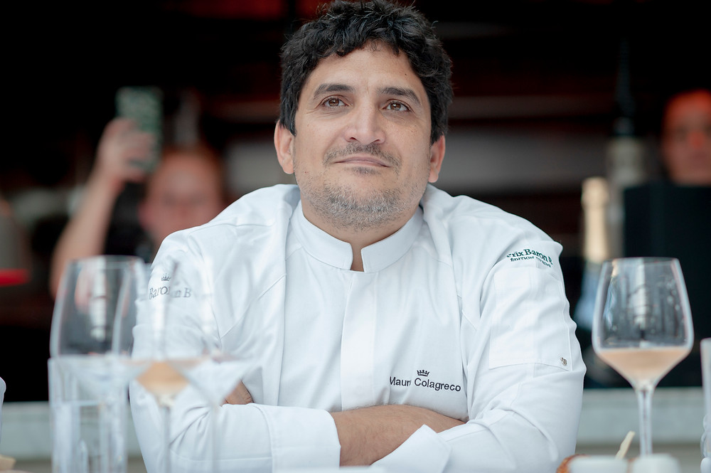 Mauro Colagreco, jurado del Prix Baron B