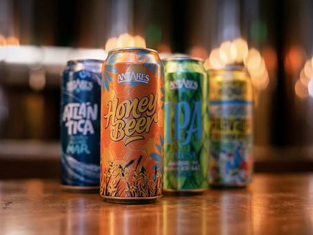 Honey Beer de Antares, ahora también en lata