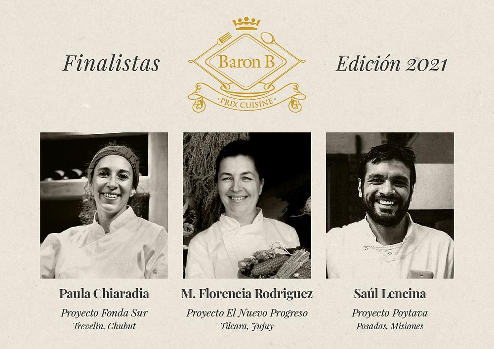 finalistas prix de baron b edition cuisine 2021