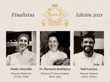 El Prix de Baron B – Édition Cuisine ya tiene finalistas