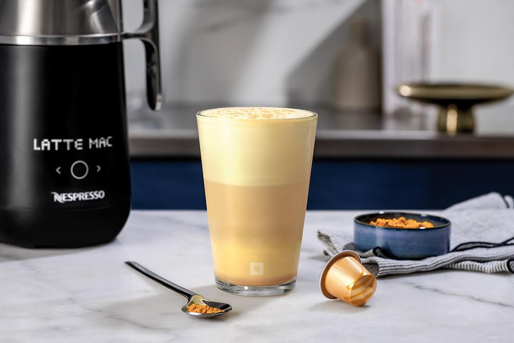 Nespresso Latte Caramel Cinnamon