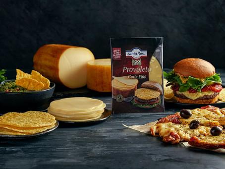 Santa Rosa lanza una provoleta lista para hamburguesas