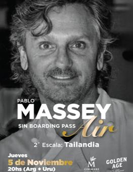 Pablo Massey invita a recorrer los sabores de Tailandia