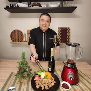 Iwao te propone hacer pollo frito para las Fiestas