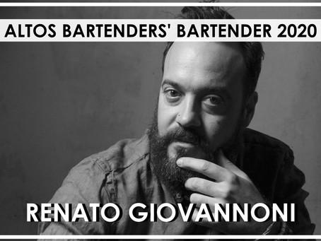 Tato Giovannoni, mejor bartender del mundo 2020