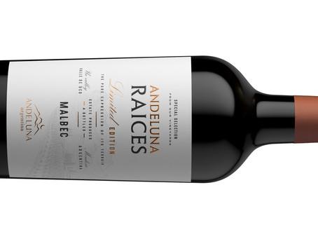Andeluna presenta Raíces, su nueva línea de vinos jóvenes