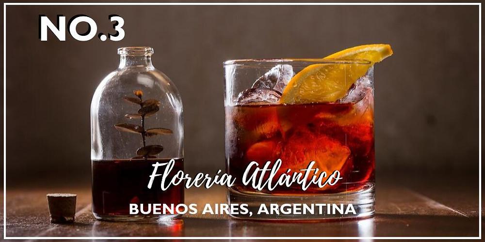 Florería Atlántico, N°3 en el ranking mundial de bares