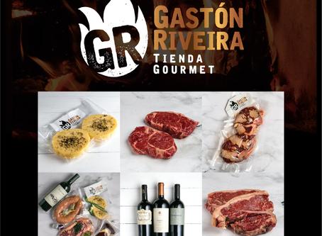 Gastón Riveira llega a casa con su tienda online