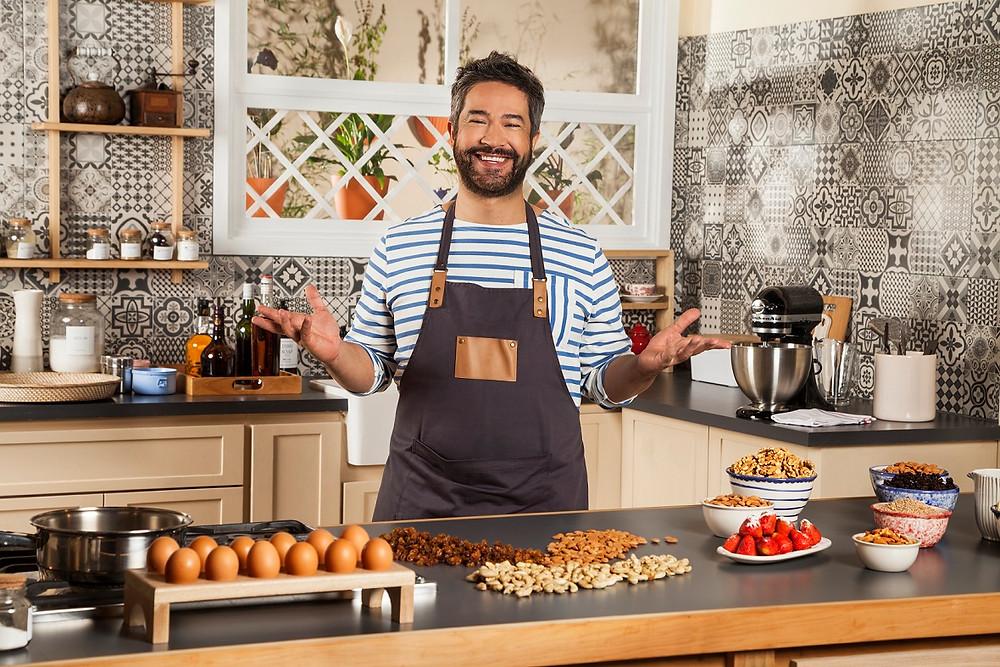 El pastelero Mauricio Asta