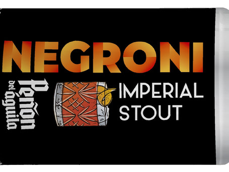 Cerveza Stout + Gin = Un Negroni muy particular
