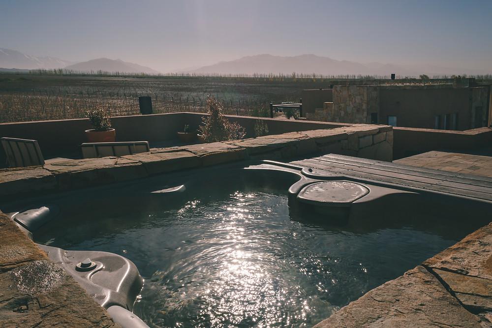 alojamiento en Mendoza en Rosell Boher Lodge
