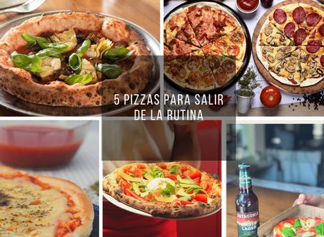 5 pizzas para salir de la rutina
