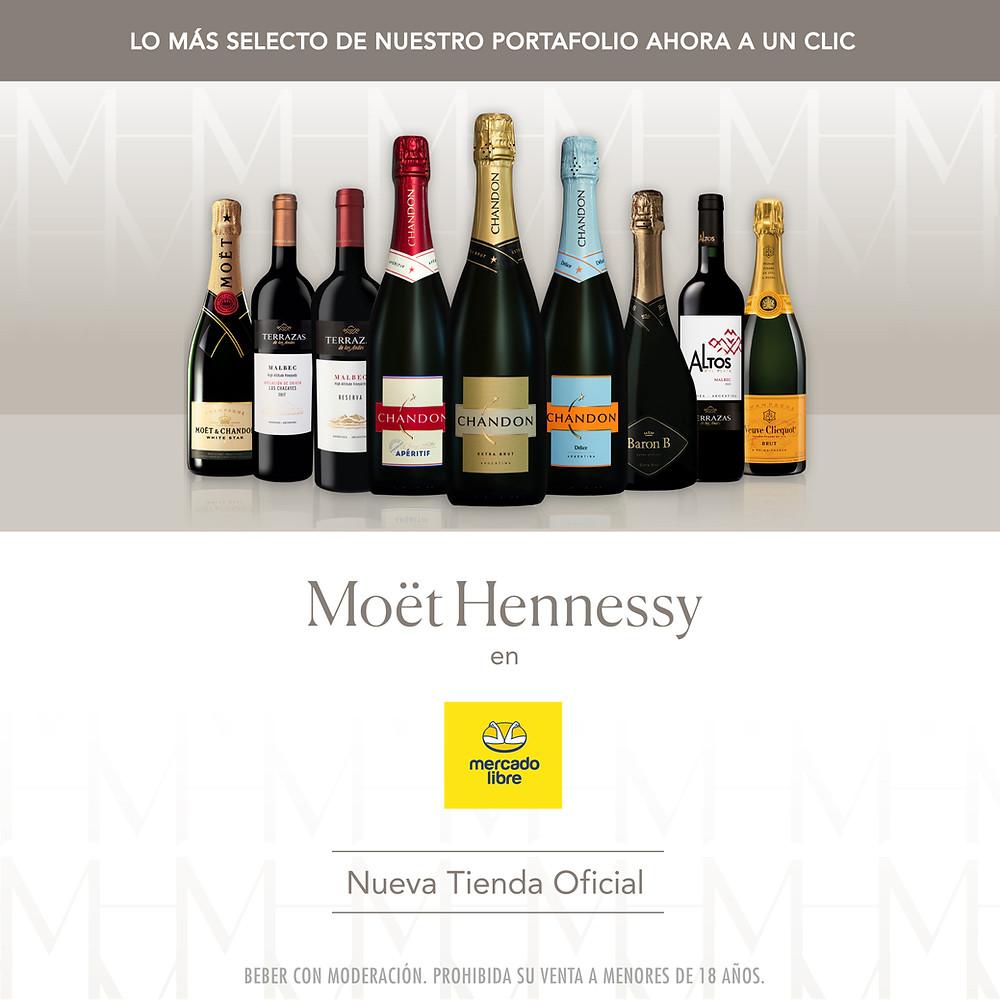 Moët Hennessy Argentina en Mercado Libre