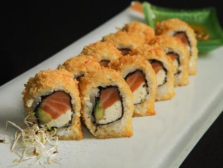 Sushi 100% gluten free en el delivery de Páru Inkas