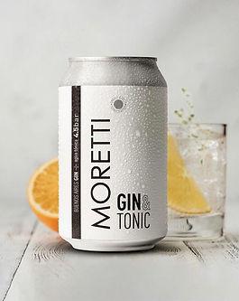 Moretti gin tonic